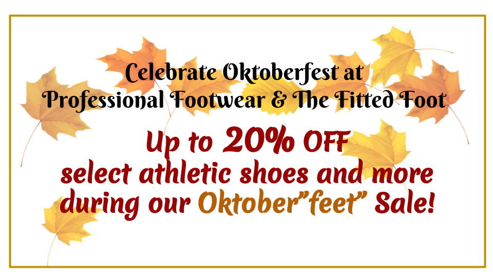 Fall in for our Oktoberfeet sale!